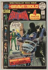 Brave and The Bold #100 February 1972 Vg 52 Page Giant