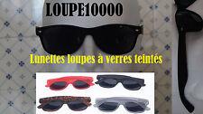 lunettes loupes de lecture pré montée à verres teintés 4 coloris réf R207 N° 535