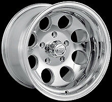 "CPP ION Alloys style 171 Wheels Rims 18x9, 8x6.5"" Polished Aluminum"