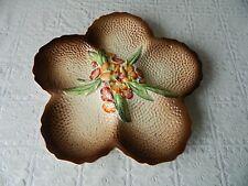 Large vintage Carlton Ware platter / serving dish - Flower shaped