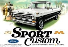 Moebius 1972 Ford Sport Custom Short Bed, 1/25, New (2016) in Factory Sealed Box