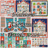Makower PANELS Advent Stockings Christmas '20 100% Cotton Patchwork Craft Fabric