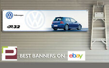 Mk4 Volkswagen Golf R32 Banner for Garage, Workshop, Office, Man Cave etc