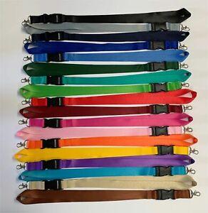 Schlüsselband - Lanyard Schlüsselbänder mit Wunschtext / Wunschdruck 25mm breit