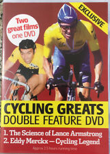 CYCLING GREATS EDDIE MERCKX & LANCE ARMSTRONG DVD