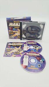Moraff's 2005 Mahjongg ~ Luxury Edition (PC CD-ROM, 2005) Disc 1 & 2 with Manual