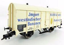 "Fleischmann SoSe 5837 Bananenwagen ""H.Olff & Sohn Hamburg"", OVP, TOP ! (PST049)"