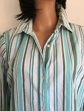 Gap Women XL Cotton Stretch Shirt Designer  Fashion Multicolor