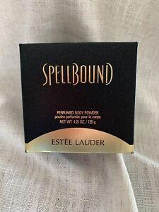 Vintage Rare Estée Lauder Spellbound Perfumed Body Powder 4.25 Oz