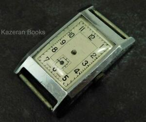 Vintage Art Deco 15 Jewel Wristwatch With Sub Second Dial Spares Repair