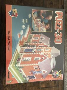 Puzz-3D Wrebbit 438 pieces the Old Mansion New Sealed