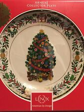 Lenox China Christmas Trees Around The World 2013 Jamaica Plate 23 Rd Annual