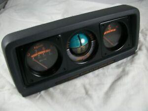Mitsubishi Montero Inclinometer Oil Pressure Volt Meter Gauges MB521143