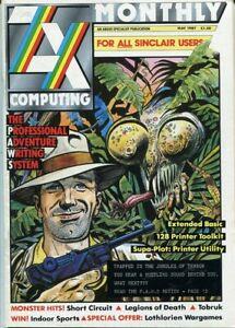 D166166 ZX Computing Vintage Computer Magazine May 1987