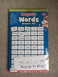 Magnetic National Literacy Words for Reception. Fiesta crafts