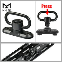 CVLIFE M-LOK Standard QD Sling Swivel Adapter Rail Mount(QD Swivel is Included)