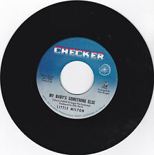 LITTLE MILTON- CHECKER 1128 NORTHERN SOUL 45RPM MY BABY'S SOMETHING ELSE  VG++
