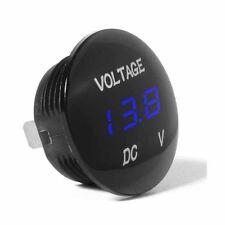 Mini Volt meter Voltage Gauge Meter 12V 4Color LED Digital Display Car SUV Panel
