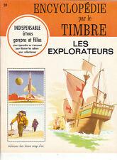 Encyclopédie par le Timbre. Les explorateurs. 1968