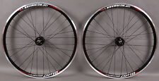 Weinmann DP18 black fixed gear Track Bike Wheelset Wheels 32h SingleSpeed DT 2.0