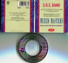 SOS BAND CD-MAXI-SINGLE (3 pouces) Just the way you like it © 1989 Tabou Rec