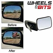 Safety Blind Spot Mirrors Wide ANgle Adjustable Towing Reversing Wing 2x Car Van