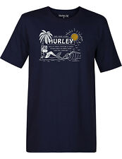 Hurley Pure Stoke Short Sleeve T-Shirt in Obsidian