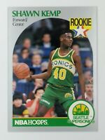 1990 90 NBA Hoops Shawn Kemp Rookie RC #279, Seattle Supersonics