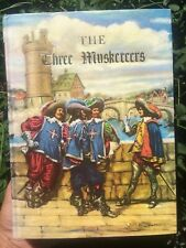 1974 BOOK THE THREE MUSKETEERS DUMAS GROSSET ILLUSTRATED JUNIOR LIBRARY Edition