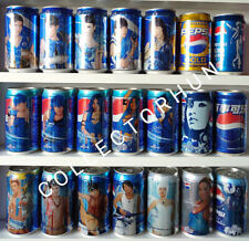 Pepsi Limited Edition Can Collection -  total 21 cans 2$ / can
