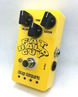The Fat Bald Guy - Chicago Stompworks - muff fuzz distortion guitar pedal