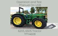 John Deere 6205 6505 Tractors Operation and Tests Technical Manual TM4608
