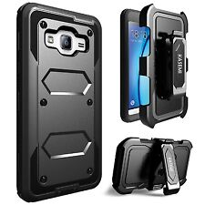 Full-Cover Samsung Galaxy J3, Amp Express Prime Heavy Duty Armor Protective Case