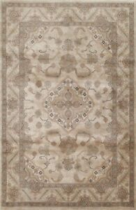 Floral Traditional Turkish Oriental Area Rug Medallion Foyer Classic Carpet 5x9