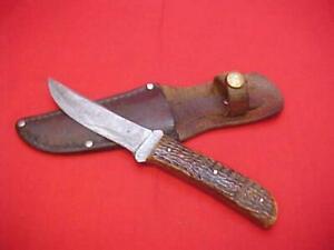 Rare Vtg Pre 1920 W. R. Case XX Sportsman Hunting Knife & Sheath