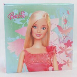 Barbie Album Foto Bimba 200 Tasche portafoto 10x15 cm Pagine Cartoncino Fantasia