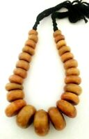 Vintage African Necklace Tribal Jewelry Moroccan Berber Large Beads Necklace