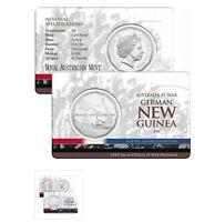 2014 50 Cent Coin Australia at War German New Guinea UNC 50c. Mintage 50,000