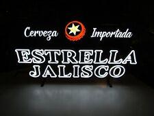 "New listing New Estrella Jalisco Cerveza Importada Led Neo Neon Beer Sign bar Light 26""x15"""