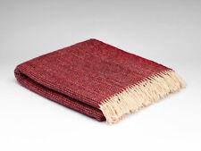 Large McNutt Chrysanthemum Blanket Blanket Throw - Made in Ireland - 100% Wool