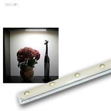 10 universal Lichtmodule, 15 LEDs neutral-weiß, 12V DC, Platine als Lichtleiste