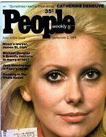 Catherine Deneuve People Magazine September 2, 1974 Issue
