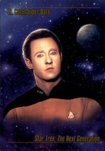 1993 Star Trek Master Series Trading Cards #12 Lt. Commander Data