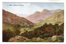 Langdale Valley - Photo Postcard c1920 / Cumbria