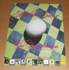 The Anomoanon Poster Mother Goose Original Promo 13x16 RARE