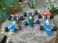 miniature POLITOYS F1 , Formule 1 - 1/32 , LOTUS climax & MATRA