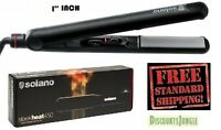 "Solano Sleek Heat 450 1"" Professional Ceramic Tourmaline Flat Iron Sleekheat NEW"