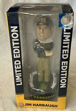 Forever Collectibles Jim Harbaugh Michigan Wolverines Football Bobblehead - New!