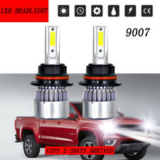 2Pcs Hi-Low Beam LED Headlight Bulbs Kits for Dodge Ram 1500 2500 3500 2003-2005