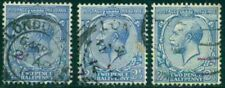 Great Britain Sg-371, Scott # 163, Used, Very Fine, 3 Stamps, Great Price!